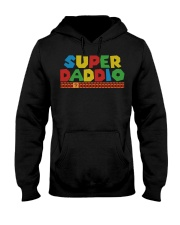super daddio shirt Fathers day gift for dads Hooded Sweatshirt thumbnail