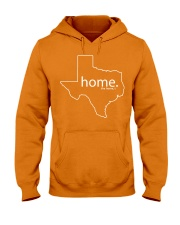 Home shirt Texas shark tank Shirt Hooded Sweatshirt front