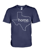 Home shirt Texas shark tank Shirt V-Neck T-Shirt thumbnail