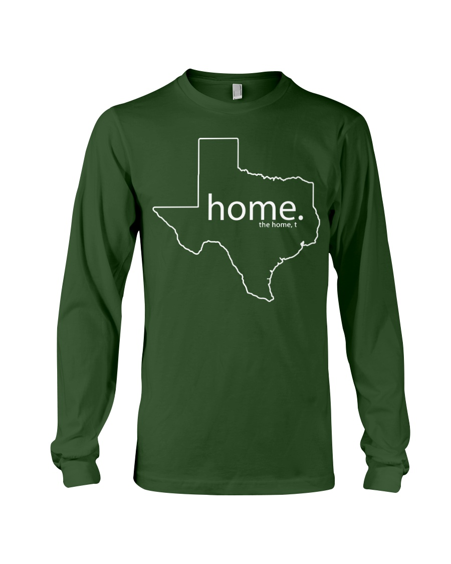 Home shirt Texas shark tank Shirt Long Sleeve Tee