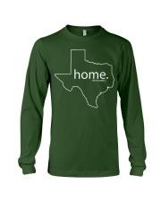 Home shirt Texas shark tank Shirt Long Sleeve Tee front