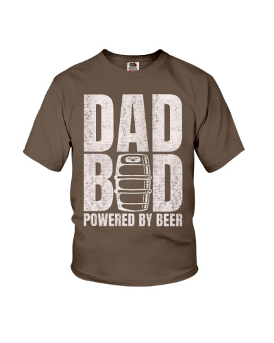 Dad Bod Shirt - Dad Bod Powered By Beer shirt