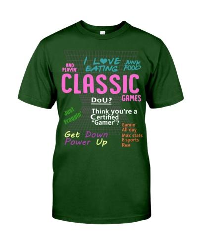 i love eating classic games shirt