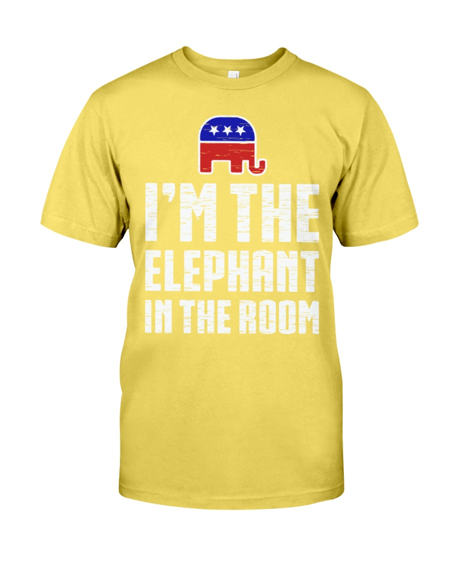Im The Elephant In The Room Republican Shirt Premium Fit Mens Tee