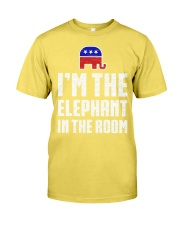 Im The Elephant In The Room Republican Shirt Premium Fit Mens Tee front
