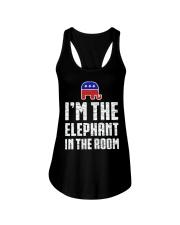 Im The Elephant In The Room Republican Shirt Ladies Flowy Tank thumbnail