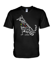 Best Friends Autism V-Neck T-Shirt thumbnail