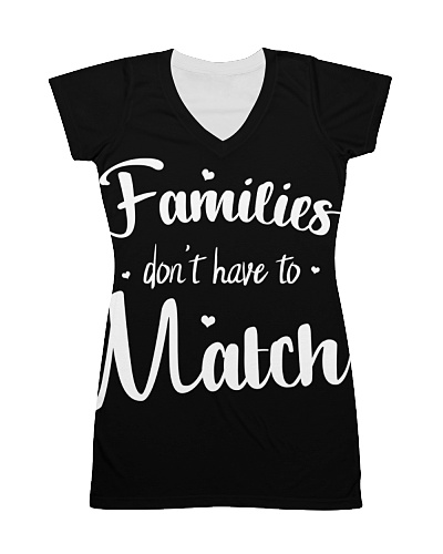 Families Don't Have To Match Adoption T-Shirt