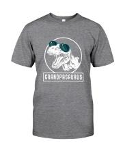Grandpasaurus Grandpa Birthday Dinosaur Lover Gift Classic T-Shirt tile