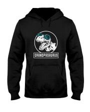 Grandpasaurus Grandpa Birthday Dinosaur Lover Gift Hooded Sweatshirt thumbnail