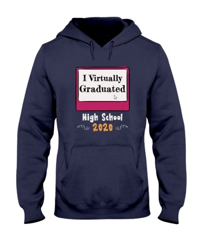 I Virtually Graduated High School 2020 T-Shirt