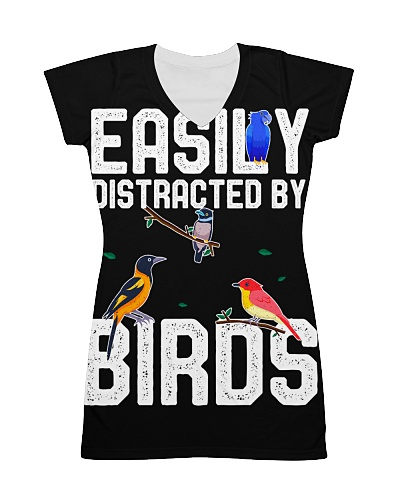 Easily Distracted by Birds Bird Birdwatching lover