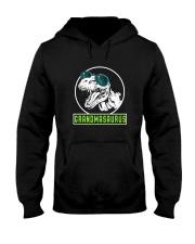 Grandmasaurus Grandma Birthday Dinosaur Lover Gift Hooded Sweatshirt thumbnail