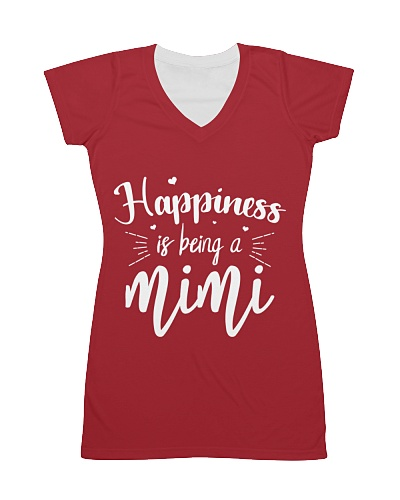 Happiness is being a Mimi Grandma T-Shirt