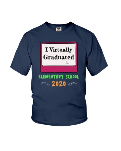 I Virtually Graduated Elementary School Funny Tee