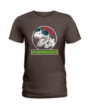 Grandmasaurus Grandma Funny GIft idea for Mimi Tee Ladies T-Shirt front