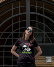 Grandmasaurus Grandma Funny GIft idea for Mimi Tee Ladies T-Shirt lifestyle-women-crewneck-front-1