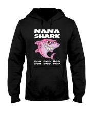 Nana Shark Hooded Sweatshirt thumbnail