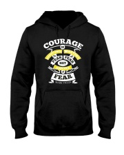 Courage Is Resistance Mastery Hooded Sweatshirt thumbnail