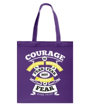 Courage Is Resistance Mastery Tote Bag tile