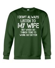 Listen to My Wife Crewneck Sweatshirt thumbnail