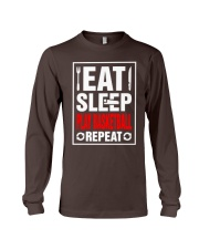 Eat Sleep Play Basketball Repeat Shirt Long Sleeve Tee thumbnail