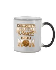 Favourite Basketball Player - Basketball Mom Shirt Color Changing Mug thumbnail