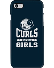 Curls Before Girls Shirt Phone Case thumbnail