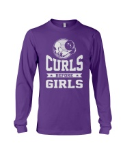 Curls Before Girls Shirt Long Sleeve Tee thumbnail