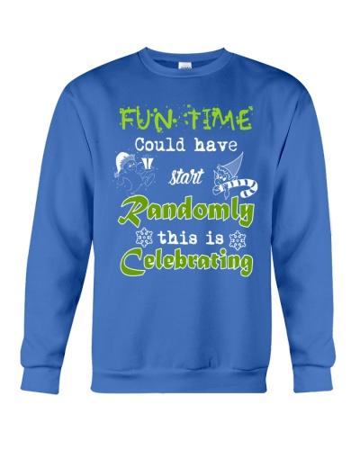 Christmas Day Fun Time Sweater
