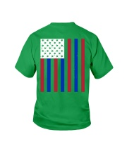 Thin Red Line Youth T-Shirt back