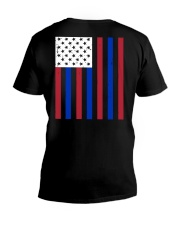 Thin Red Line V-Neck T-Shirt thumbnail