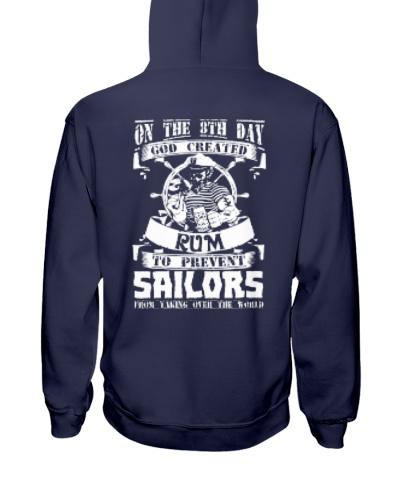 Sailors Love Rum T-Shirt Hoodie
