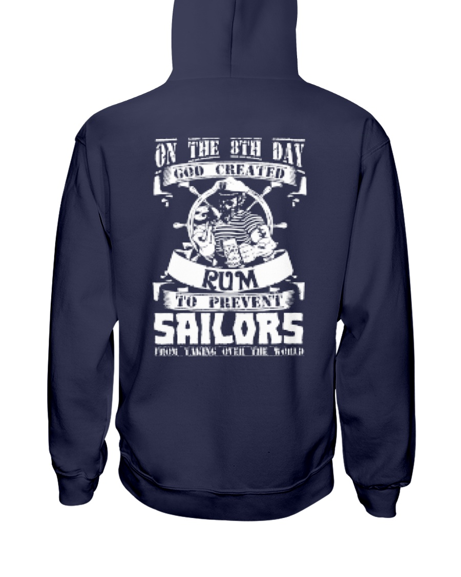 Sailors Love Rum T-Shirt Hoodie Hooded Sweatshirt
