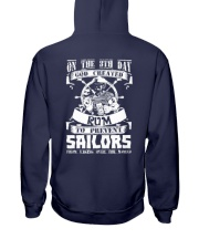 Sailors Love Rum T-Shirt Hoodie Hooded Sweatshirt back