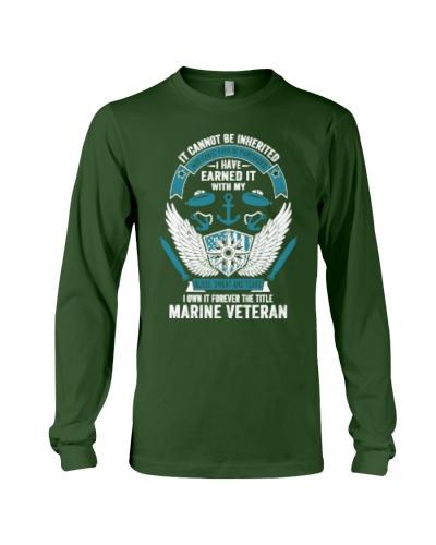 Marine Veteran T Shirts