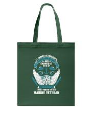 Marine Veteran T Shirts Tote Bag thumbnail