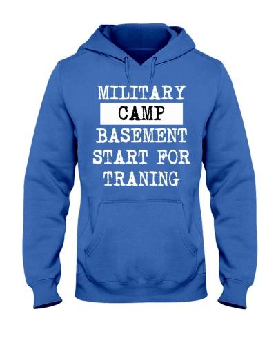 Military Camp Hoodie Shirts