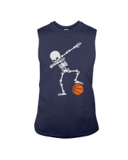 Skeleton Football Basketball Hoodie Sleeveless Tee thumbnail