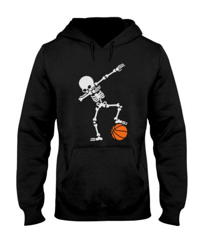 Skeleton Football Basketball Hoodie