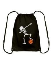 Skeleton Football Basketball Hoodie Drawstring Bag thumbnail