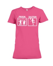 Basketball Solution T Shirt Premium Fit Ladies Tee thumbnail