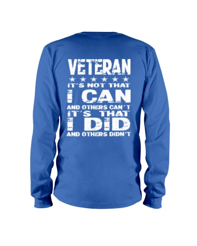 Veteran I Can I Did