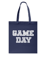 Game Day For Fans T Shirt Tote Bag front