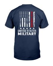 Veteran of United States Military Classic T-Shirt back