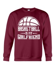 Basketball Is My Girlfriend Hoodie Crewneck Sweatshirt thumbnail