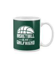 Basketball Is My Girlfriend Hoodie Mug thumbnail