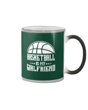 Basketball Is My Girlfriend Hoodie Color Changing Mug thumbnail