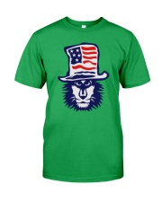 Lion Hat American Flag Hoodie Classic T-Shirt thumbnail