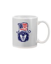 Lion Hat American Flag Hoodie Mug thumbnail